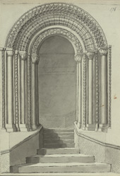 Durham Castle, Doorway